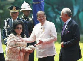 President B.S. Aquino and PM Najib Razak